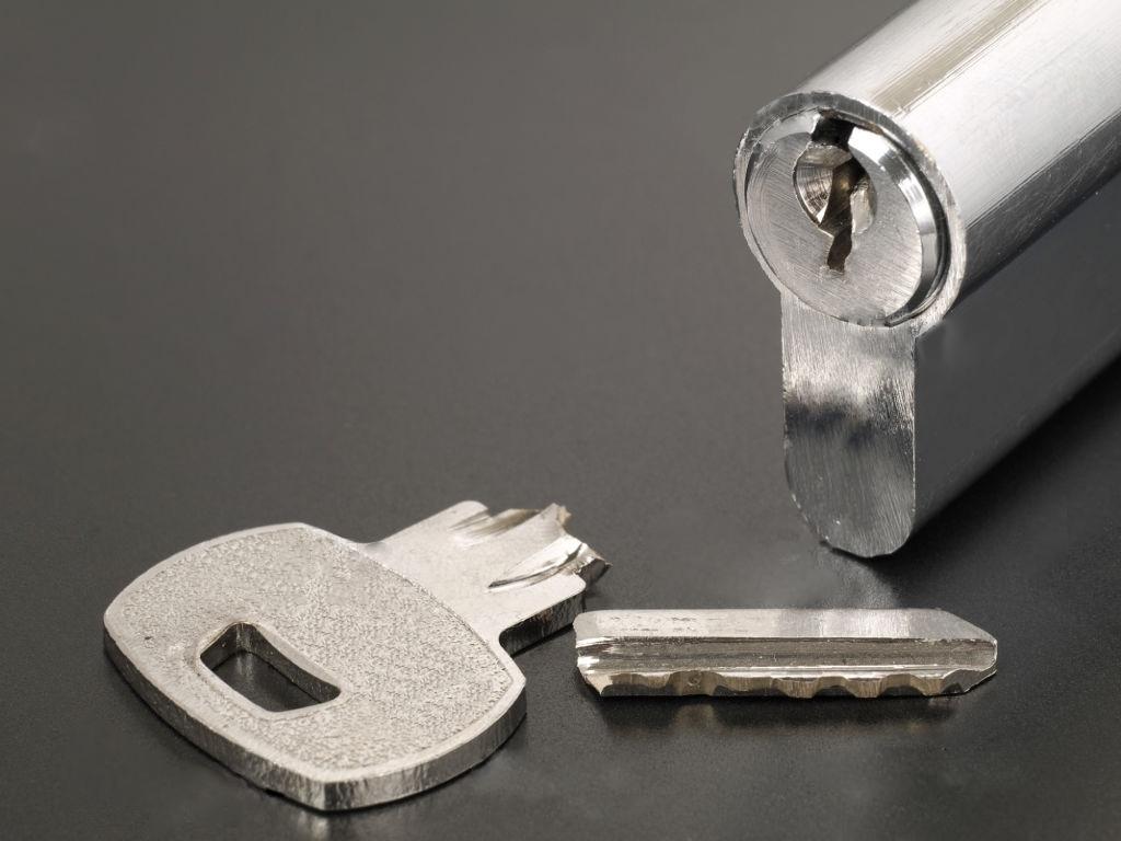clé cassée